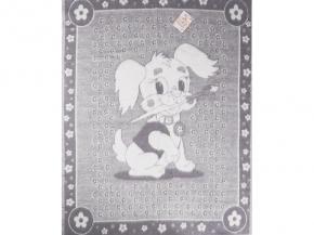 Одеяло п/шерсть 85% 100*140 жаккард цвет серый
