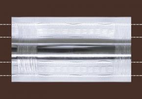 80мм. 9154 ЛЕНТА ДЛЯ ШТОР белый 80мм, параллельная (рул.50м)