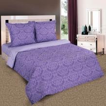 Поплин рисунок 9866-3 Византия фиолетовый  ширина 220см