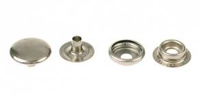 Кнопка-кольцо 15мм, никель (уп.720шт)