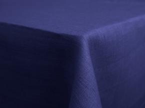 11С519-ШР Скатерть 100% лен 1318 цв. василек 150*250 см.