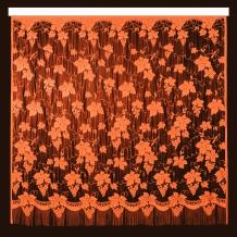 22С14-Г10 рис 2093 Занавеска 250*250 цвет оранжевый