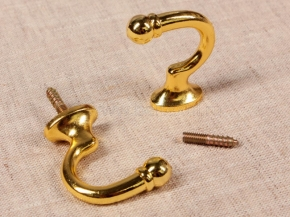 Крючок Круг-06 золото