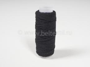 Спандекс (нить-резинка) кат.10гр/25м, черный (уп.12шт)