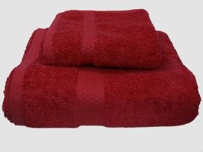 Полотенце махровое Amore Mio GX Classic 50*90 цвет бордовый