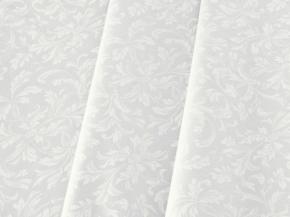 Ткань скатертная арт 07С-14ЯК п/лен отбеленный Перепев, ширина 150см