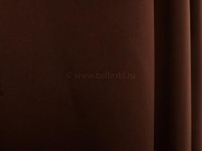 Ткань блэкаут Carmen RS 6668-06/280 P BL т. шоколад, ширина 280см