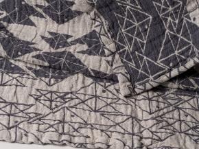 17с356-ШР/у 56*110 полотенце Оригами 2 коричневый