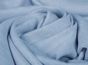 Ткань 1654ЯК п/лен рис. 13/4 6,0 голубой сорт 1, 150см