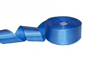 12С3726-Г50 ЛЕНТА АТЛАСНАЯ ярко-голубой*264, 35мм (рул.25м)