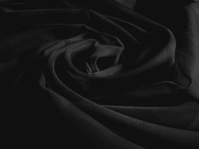 Вуаль однотонная T VF 69/300 V черный, ширина 300 см