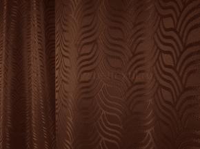 Жаккард LD H216-105/150 коричневый, ширина 150см