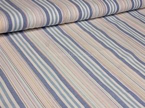 Ткань бельевая арт 175070 п/лен пестротканый рис 5*51/10 Бирюза голубой, ширина 180см