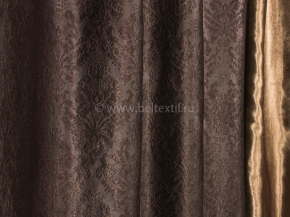 Ткань блэкаут T WJ 2017-13/280 P BL шоколад, ширина 280см