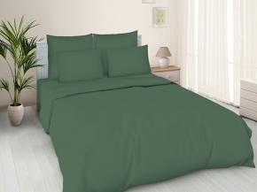 Поплин гладкокрашеный 100П-1 Люкс цвет 488 темно- зеленый