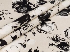Полулен бельевой арт. П25 рис. 4882/1, ширина 150см