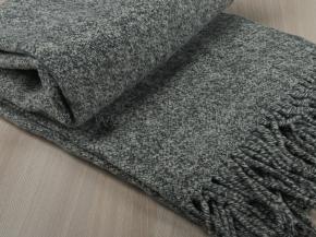 Плед из мериносовой шерсти 170*200 цв. 4 графит