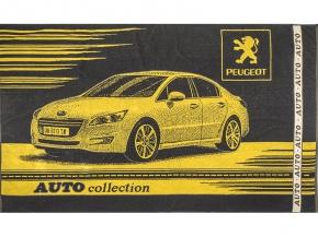 6с102.412ж1 Peugeot Полотенце махровое 104х175см