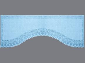 16с24-Г10 рис 2075 занавеска 160*350 цвет голубой