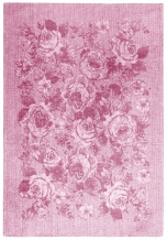 17с102-ШР 49*70 Полотенце Франсуаза 85 розовый