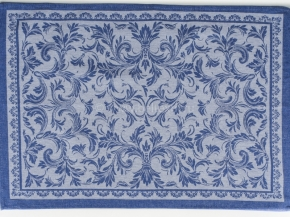 07с-39ЯК 50*70 Полотенце Овальная цв.синий