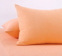 Набор наволочек махровых из 2-х штук 70*70 цвет персик