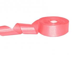 1С88У-Г50 ЛЕНТА АТЛАСНАЯ ярко-розовый*304, 17мм (рул.25м)