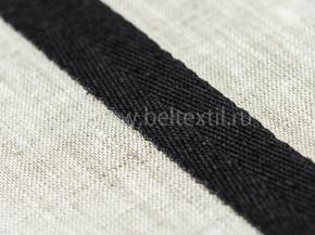 Лента киперная 20мм (4,03гр/м) черный (рул.50м)