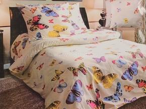 """4124-БЧ  Павлинка 1.5 спальный компл. """"Бабочки"""""""