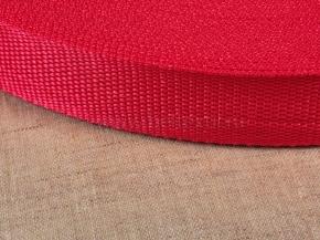 Стропа 30мм (пл.15,7гр) красный (рул.50м) арт.19с3