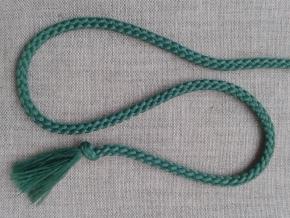 1С35-Г50 ШНУР зеленый 4мм (рул.200м)