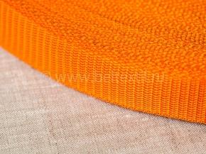 Стропа 30мм (пл.17,5гр) оранжевый*157 (рул.100м)