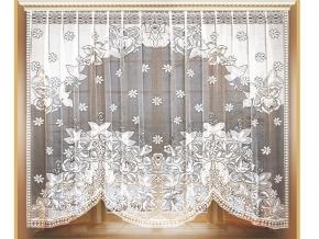 03С1837-Г50 ЗАНАВЕСКА ДЛЯ КУХНИ белый 1.67*2.85м