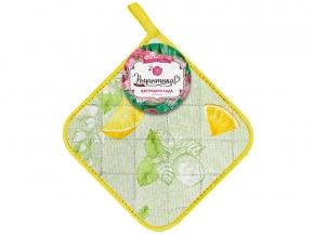 """Прихватка  18*18 """"Bella Cucina"""" Лимонный сад"""
