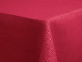 11С519-ШР Скатерть 100% лен 1296 цв. малиновый 150*250 см.