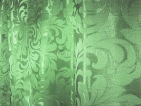 Портьера T ZG L2978-28/155 зеленый, ширина 155 см