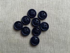 Пуговицы АП 14/4, т.синий (уп.1000шт.)