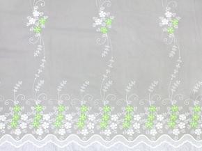"""Вуаль """"Sabrina"""" вышивка HX 67299-05/280 VB, ширина 280 см. Импорт"""
