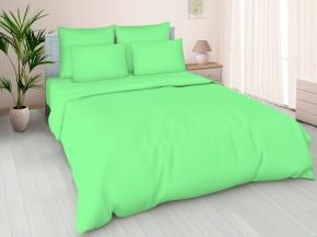 Поплин гладкокрашеный арт 100П-1 цв. Райская зелень, ширина 220см