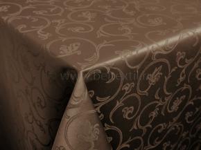 1809А-01 Скатерть 2233/090802 220*150 цв. шоколад