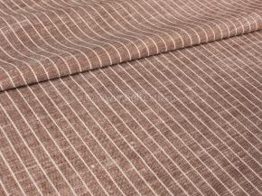 Ткань 1654ЯК п/л пестротканый бел/цв ХМ усадка 150 см 4/2 9,19 коричневый сорт 1, ширина 150см
