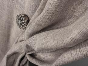 Ткань интерьерная 176080 лен вареный, ширина 150 см