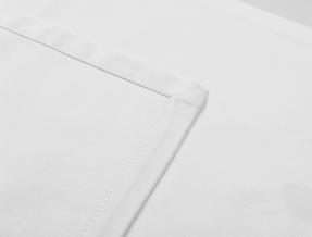 Салфетка белая Респект без рамки 1210-99А4002-00 (53*53)