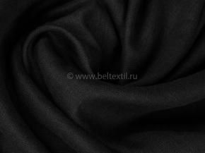 Ткань одежная гладкокрашеная арт 176003 МА цвет черный К1П1, 150 см