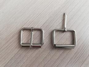 Пряжка металл.25мм (3мм) никель (уп.50шт)