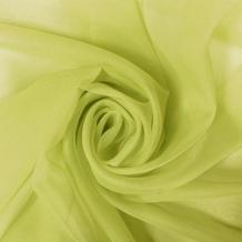 """Вуаль однотонная """"Шелли"""" SH 17/295 V майская зелень, ширина 300 см"""
