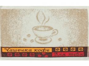 6с105.513ж2 Чашка кофе Салфетка махровая 50х30см Лен+х/б