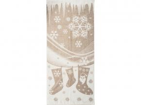 6с102.511ж2 Новогодняя мозаика Полотенце махровое 67х150см