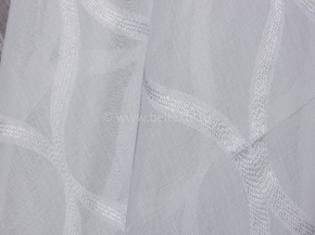 Вуаль под лен D04 4010 (21A) (белый), 300см