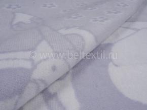 Одеяло хлопковое 100*140 жаккард цвет белый